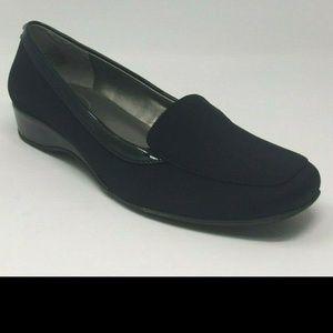 Bandolino Women's Lilas Black Fabric Shoes, 7 M US
